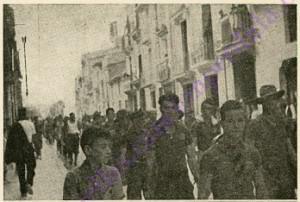 25 julio 1936 Salida de milicias de Castellón