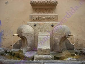 Fuente de Mora de Rubielos