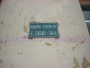 Grupo Escolar Francisco Casas Sala