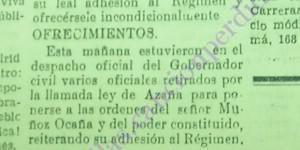 Militares retirados se presentan voluntarios al gobernador de Castellón