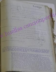 Exposición de Lupercio Villuendas, juez instructor del consejo de guerra