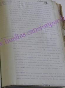 Lectura de cargos al coronel Hilario Fernández Bujanda