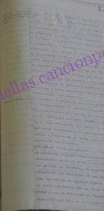 Lectura de cargos al diputado Casas Sala